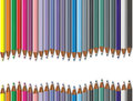 Color pencil colorful illustrations background Royalty Free Stock Images