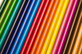 Color pencil crayons Royalty Free Stock Images