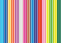 Color pencil pattern concept background idea Stock Photos