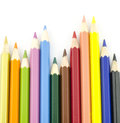 Color pencil symbol graph Royalty Free Stock Photo