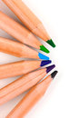 Color pencils Royalty Free Stock Images