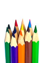 Color pencils abstract background from Stock Photos