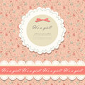 Color pink floral background vector Stock Photo