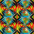 Color rotation effect bright background with the optical illusion of spinning background psychedelic background Royalty Free Stock Photography