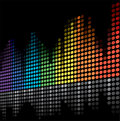 Color scale equalizer Royalty Free Stock Photo