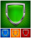 Color shields protection vector illustration Royalty Free Stock Photos