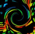 Color Spectrum Swirl Royalty Free Stock Photo
