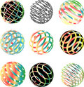 Color spheres Royalty Free Stock Photo