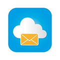 Color square frame with mail cloud service
