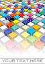 Color squares Royalty Free Stock Photos