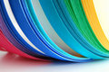 Color strips rainbow Royalty Free Stock Image