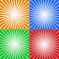 Color sun sunburst background this is file of eps format Stock Photo