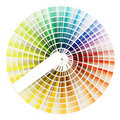 Color swatch book Royalty Free Stock Photo