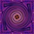 Abstract color swirl in pink and violet