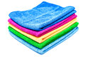 Color towels Stock Images