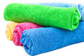 Color towels Royalty Free Stock Photo