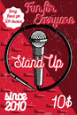 Color Vintage Stand Up Comedy ...