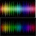 Color wave Stock Photography