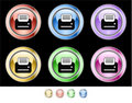 Color web buttons Stock Images