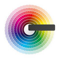 Color wheel Royalty Free Stock Photo