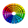 Color wheel Royalty Free Stock Photos