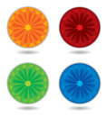 Color wheel template Royalty Free Stock Photos