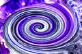 Color whirl in violet and white Royalty Free Stock Images