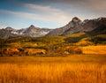 Colorado Autumn Scenic Beauty Royalty Free Stock Photo
