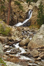 Colorado Boulder Falls October Stock Photography