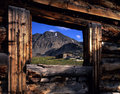 Colorado Ghost Town Stock Images