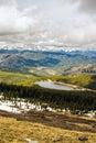 Colorado mountain lake Royalty Free Stock Photo