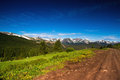 Colorado Mountain Pass In Summer Royalty Free Stock Photo