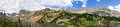 Colorado Mountains Panoramic Landscape Royalty Free Stock Photo