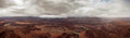 Colorado River in Canyon Panorama Stock Photo