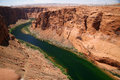 Colorado river close to Glen canyon Royalty Free Stock Photos