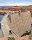 Colorado River Dam, Arizona Stock Photos
