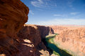 Colorado River at Glen Canyon, near Page, Arizona Royalty Free Stock Photo