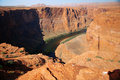 Colorado River at Horseshoe Bend,Arizona Royalty Free Stock Photography