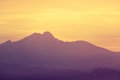 Colorado rocky mountain sunrise sunset Royalty Free Stock Photo