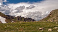 Colorado Rocky Mountain vista Royalty Free Stock Photo