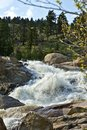 Colorado Rocky Waterfall Royalty Free Stock Image