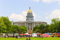 Colorado State Capitol Royalty Free Stock Photo