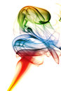 Colored abstract smoke Royalty Free Stock Photo
