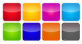Colored application icons for mobile phones and tablets vector illustration Stock Image