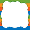 Colored background with cloud