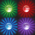 Colored Background with Sphere Stock Images