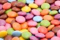 Colored bonbons Stock Photos