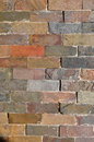 Colored brick wall texture background Royalty Free Stock Photography