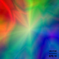 Colored Bright Iridescent Abstract Background. Royalty Free Stock Photo
