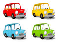 Colored Cars Stock Photos